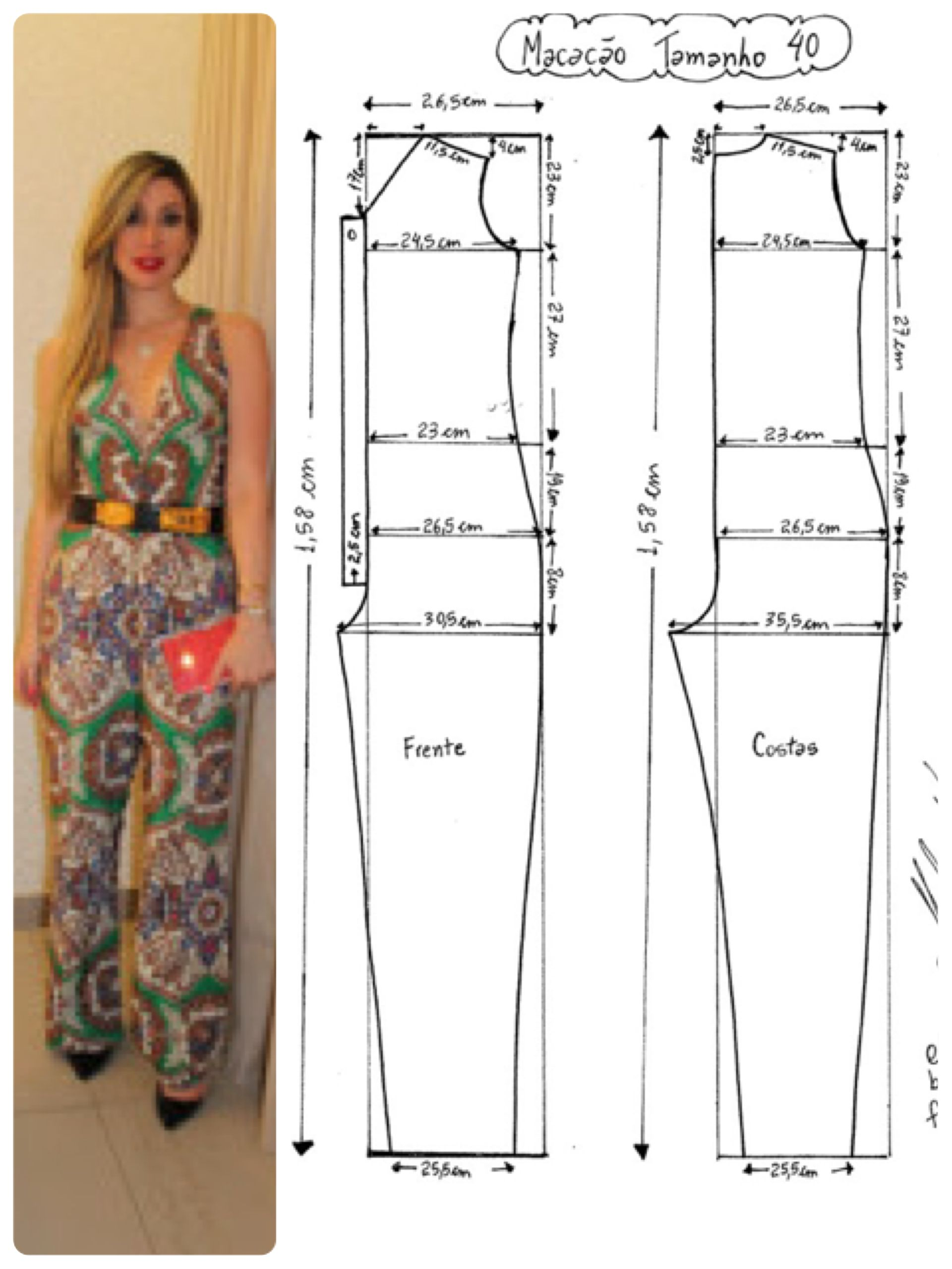Jumpsuit | Patterns | Pinterest | Sewing, Sewing patterns at Pattern