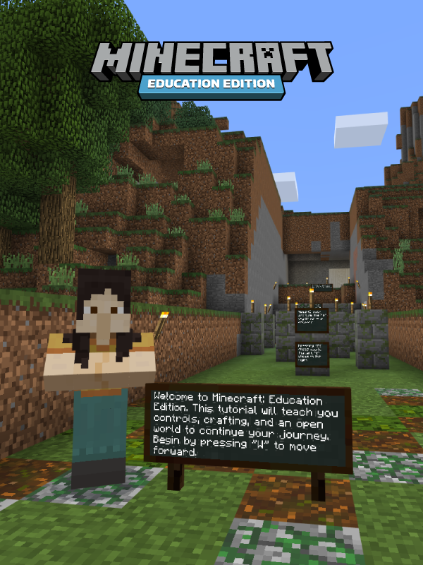Tutorial World How To Play Minecraft Tutorial Education