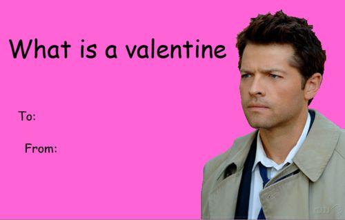 supernatural castiel tumblr valentine card   tumblr valentines ...