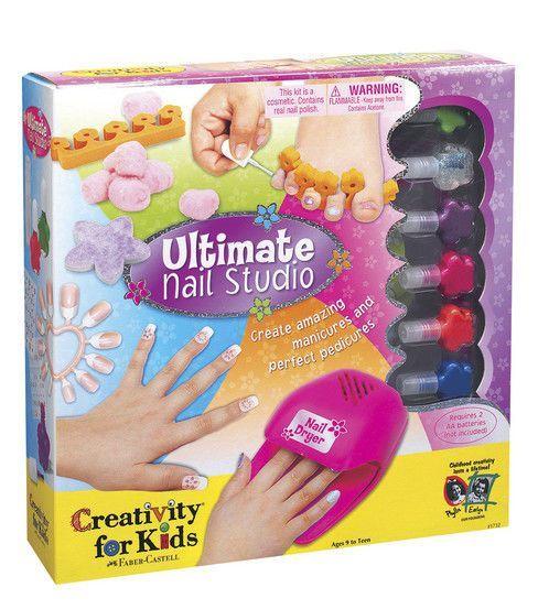 Creativity For Kids Kit Ultimate Nail Studio