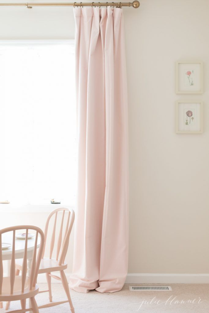 How To Hang Curtains To Look Like Custom Drapes Secrets From A