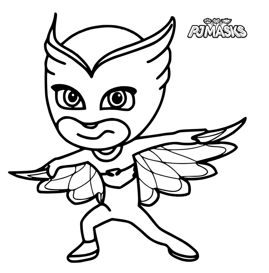 pj masks coloring pages to download and print for free - Pj Masks Coloring Pages
