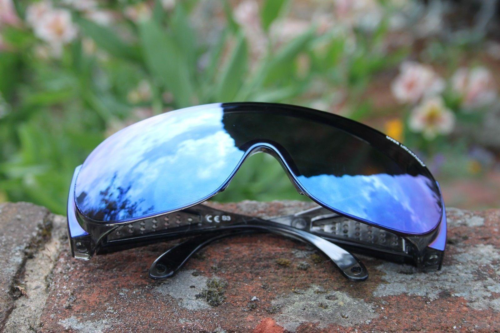 Uvex Ultrashield Sunglasses Over Glasses Cycling Fishing