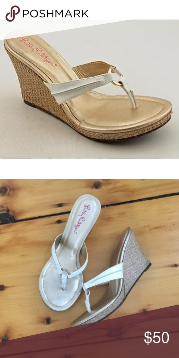 27092415a14194 Lilly Pulitzer McKim High Wedge Sandal Beautiful and so comfortable Lilly  Pulitzer McKim High Wedge Sandal