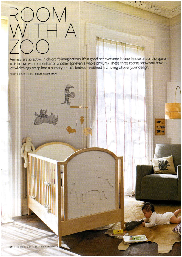 Animal Nursery Or As We Call It One Side Of The Bedroom
