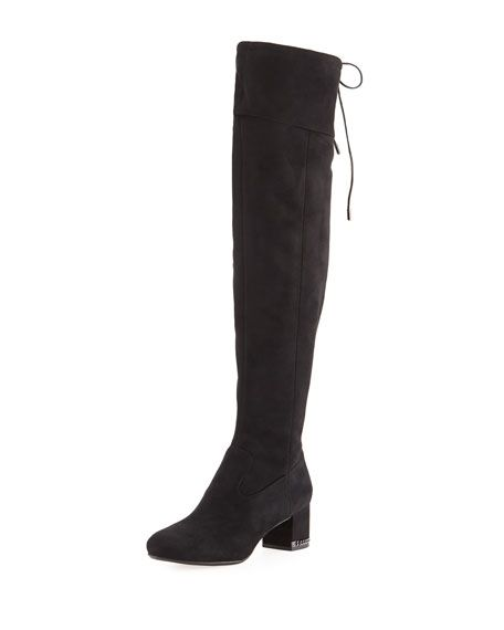 stabil kvalitet helt ny billig MICHAEL Michael Kors Jamie Sueded Over-the-Knee Boot | Over the ...