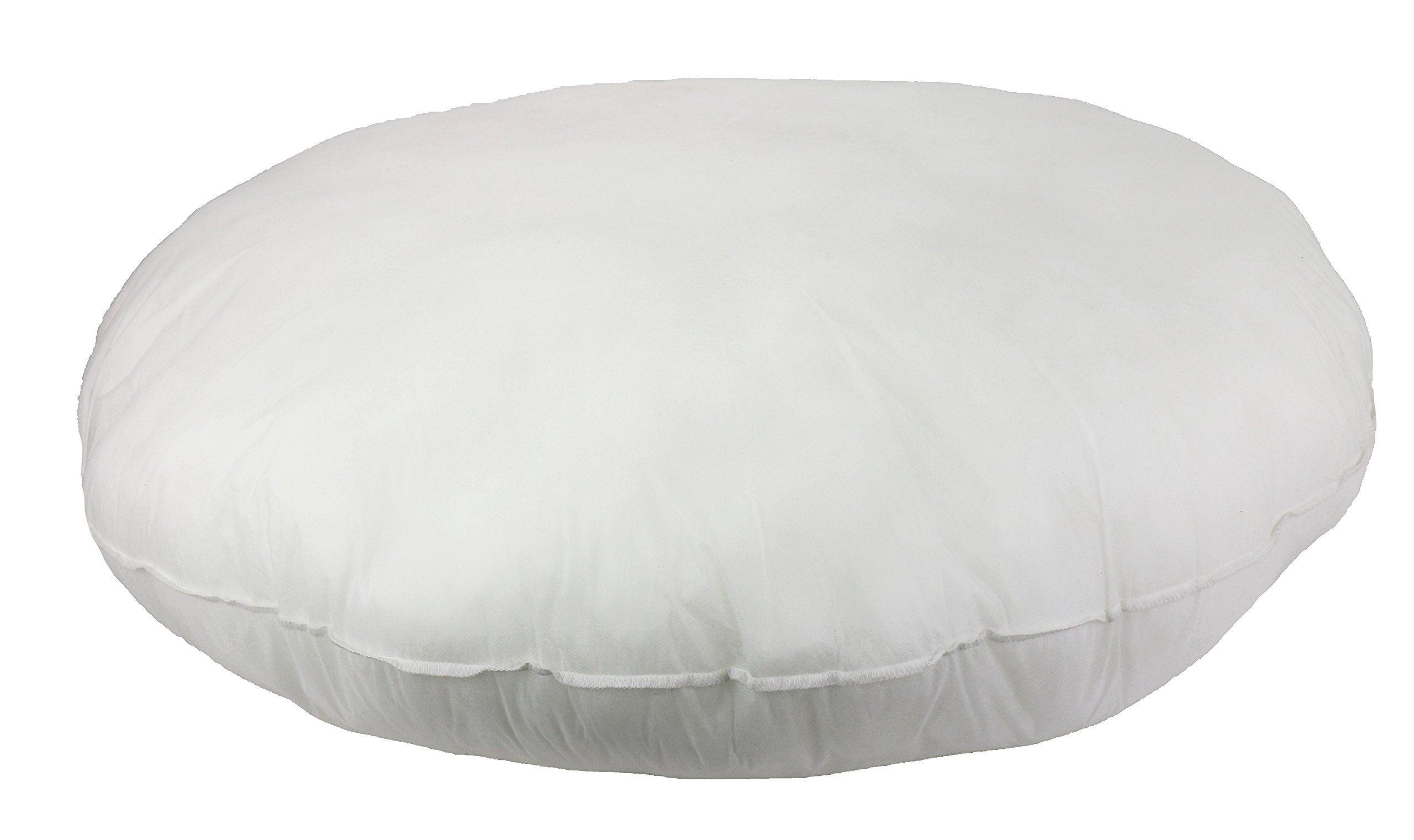 Foamily Premium Hypoallergenic Round Stuffer Pillow Floor