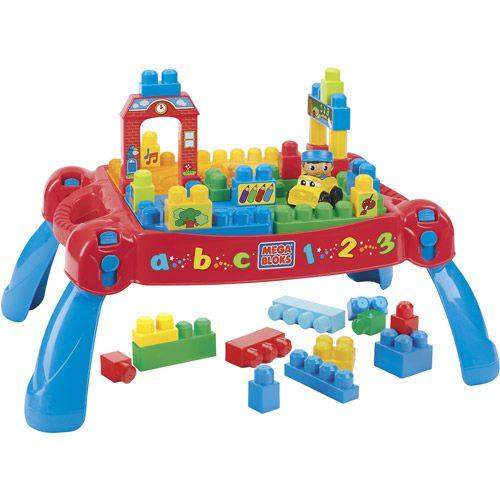 Mega Bloks Play N Go Table Walmart Com Play N Go Cool Toys For Boys Mega Bloks