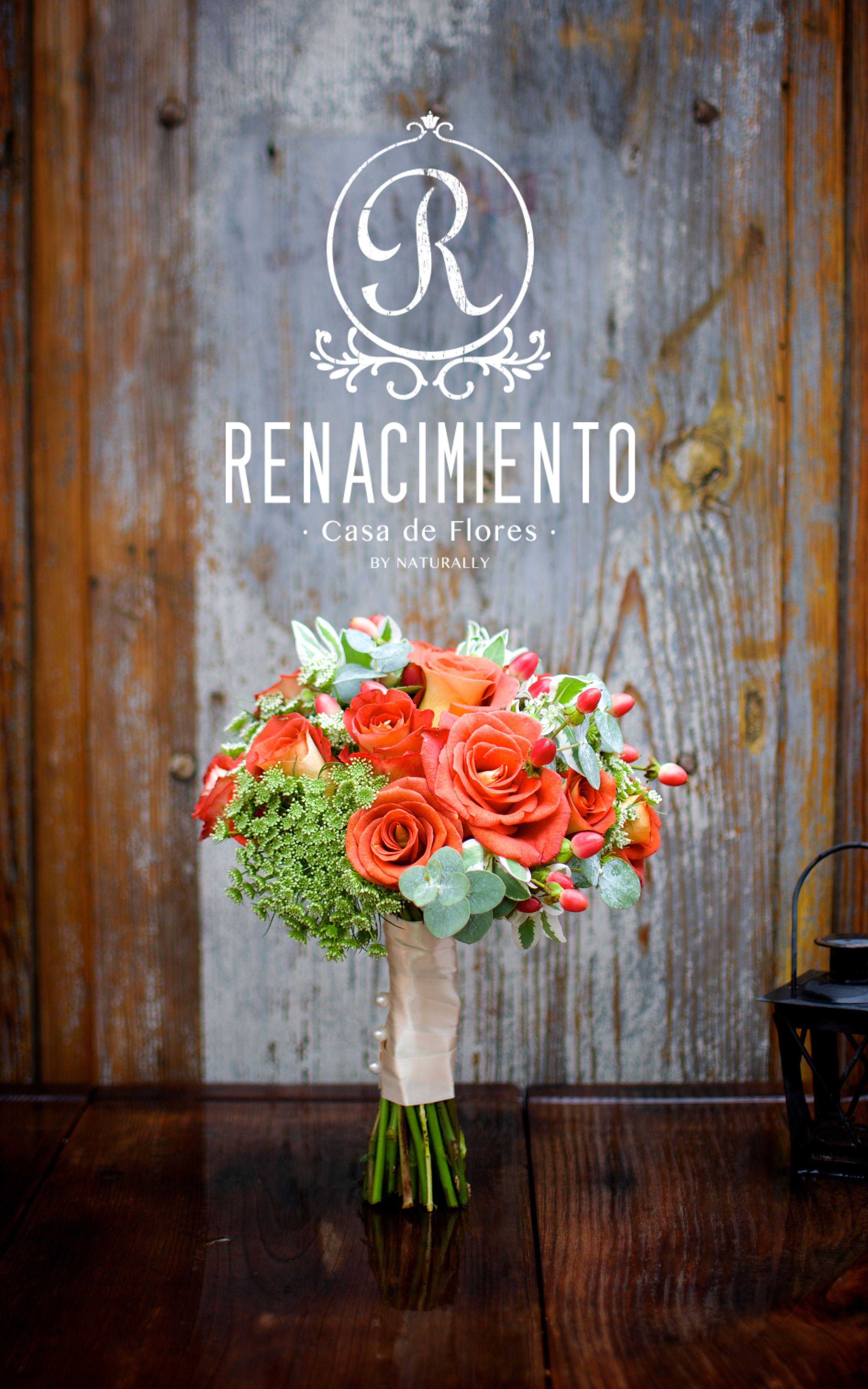 Wedding Bouquet by ©Renacimiento Casa de Flores.