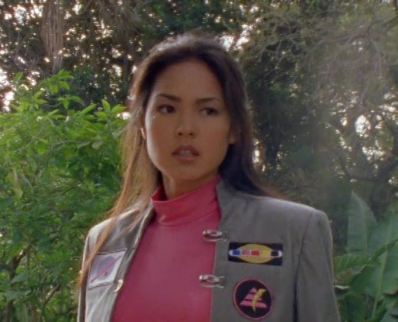 cassie chan served as the pink turbo ranger and the pink