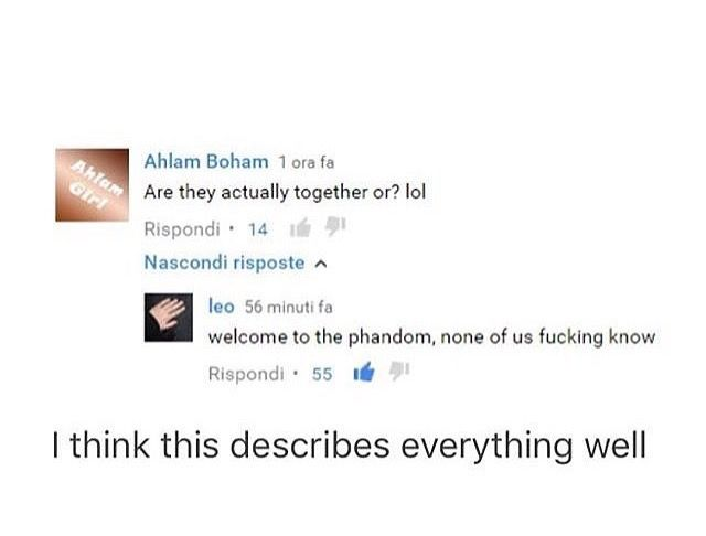 Welcome to the Phandom. this is the question EVERYONE asks, and NO ONE KNOW THE ANSWER TO.