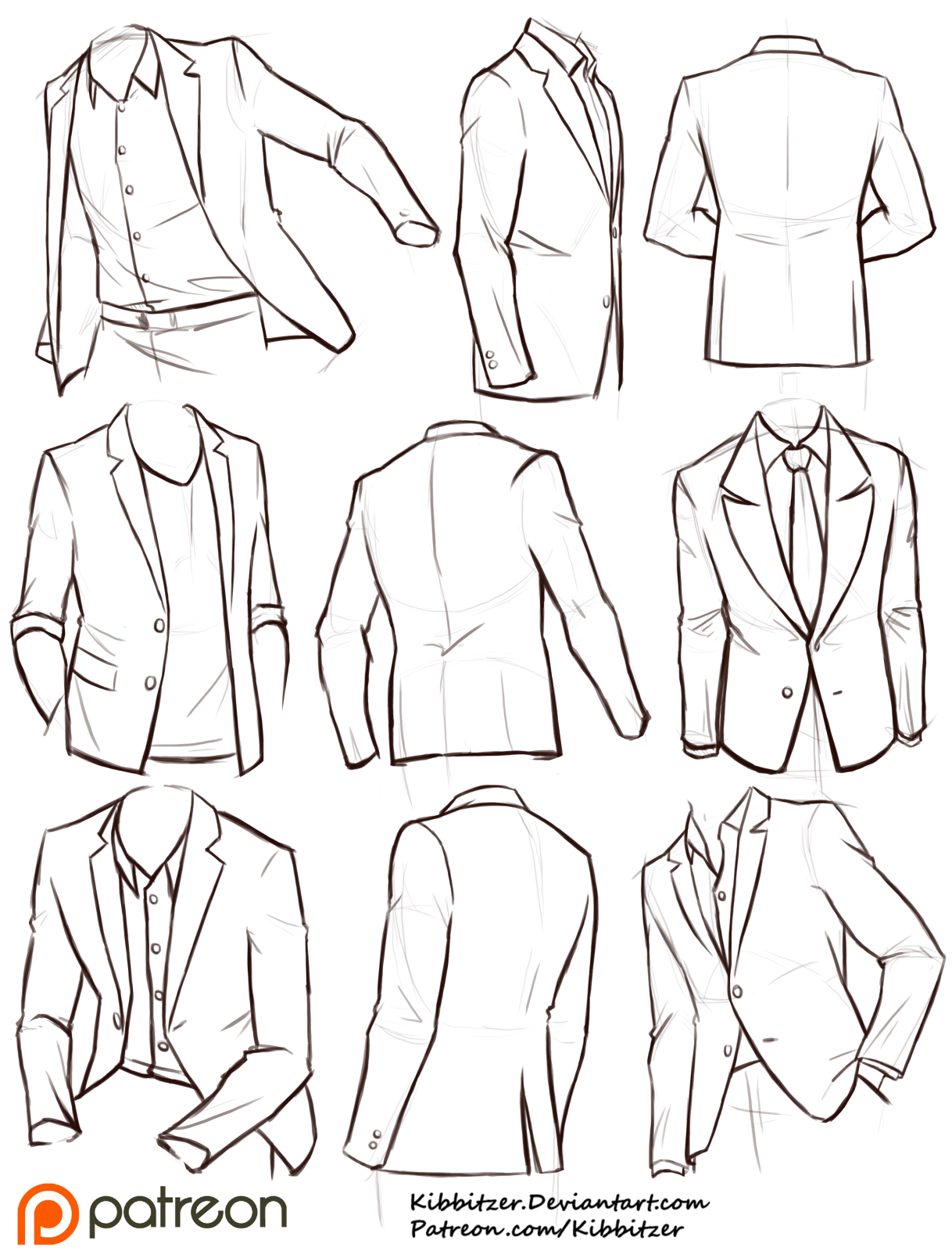 It's just a graphic of Playful Suit Drawing Reference