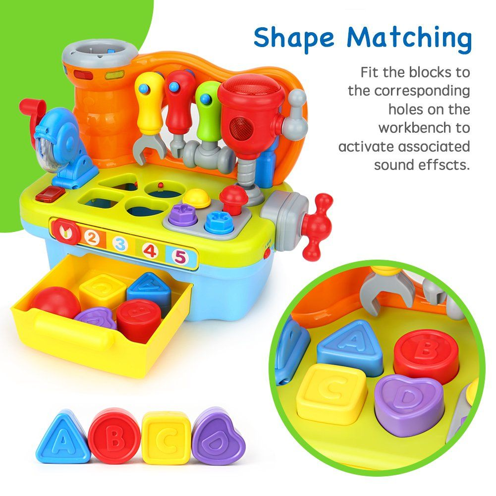 Toyk Multifunctional Music Learn Toolbox Kids Electronic ...