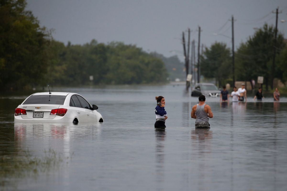 Hurricane Harvey 200 Indian Students Marooned In Houston Floods Texas Flood Flood Damage Hurricane