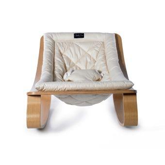 Transat Bebe Levo Hetre Gentle White Blanc Transat Bebe Chaise Haute Transat Et Chambre Bebe Design