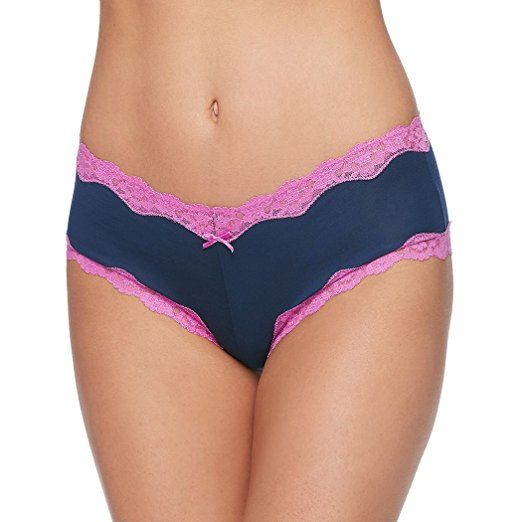 b43e648d81 Maidenform Women s Modal Cheeky Hipster With Lace Panty at Amazon Women s  Clothing store  Tanga Underwear