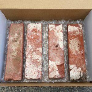 Reclaimed Thin Brick Wall Veneer Sample Baltimore Blend