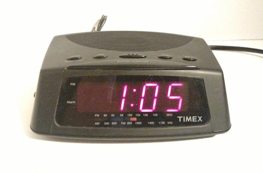 Details About Timex Am Fm Alarm Clock