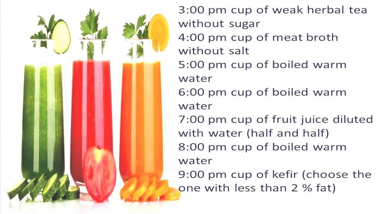 6 weeks liquid diet
