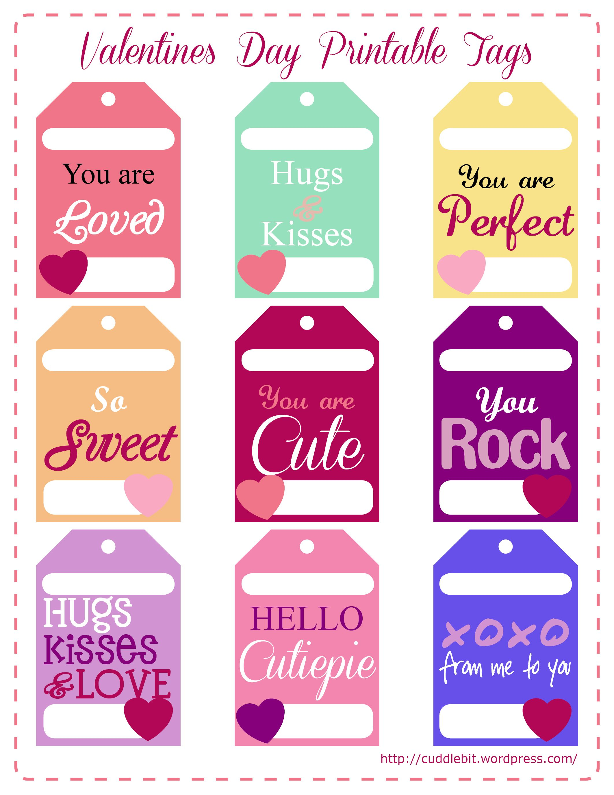 image relating to Valentine's Day Tags Printable known as Valentines Working day Appreciate Packs Consequently stinking adorable!! Valentine