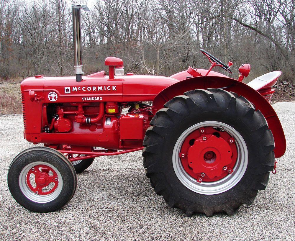 Vintage Antique 1953 IH McCormick Standard Super W-4 Tractor, Fully  Restored | Business & Industrial, Heavy Equipment, Antique & Vintage Farm  Equip | eBay!