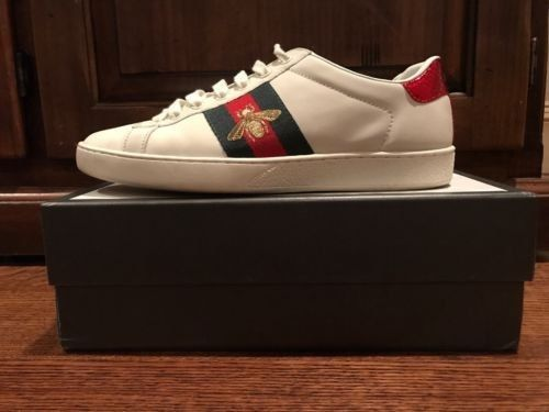 76aadab68bb Mens Gucci Ace Bee Embroidered Sneaker Size 9  fashion  clothing  shoes   accessories  mensshoes  casualshoes (ebay link)