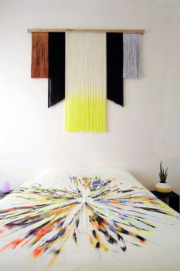 40 Ridiculously Artistic Fabric Wall Art Ideas Fabric Wall Art