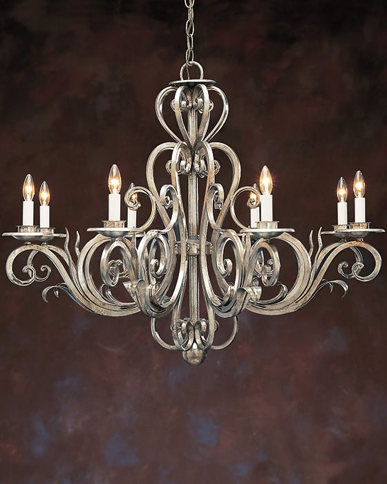 Wrought Iron Chandelier In 2020 Iron Chandeliers Wrought Iron