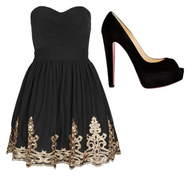 """""""Night Out #44"""" by guitargirlmads on Polyvore"""