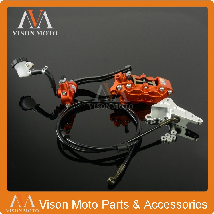 (135.50$)  Watch here  - Front Brake System Brake Lever Master Cylinder Hose Big Caliper Adaptor For KTM EXC SX SXF XCF XCW XCWF XC 125-530 10-15 Enduro