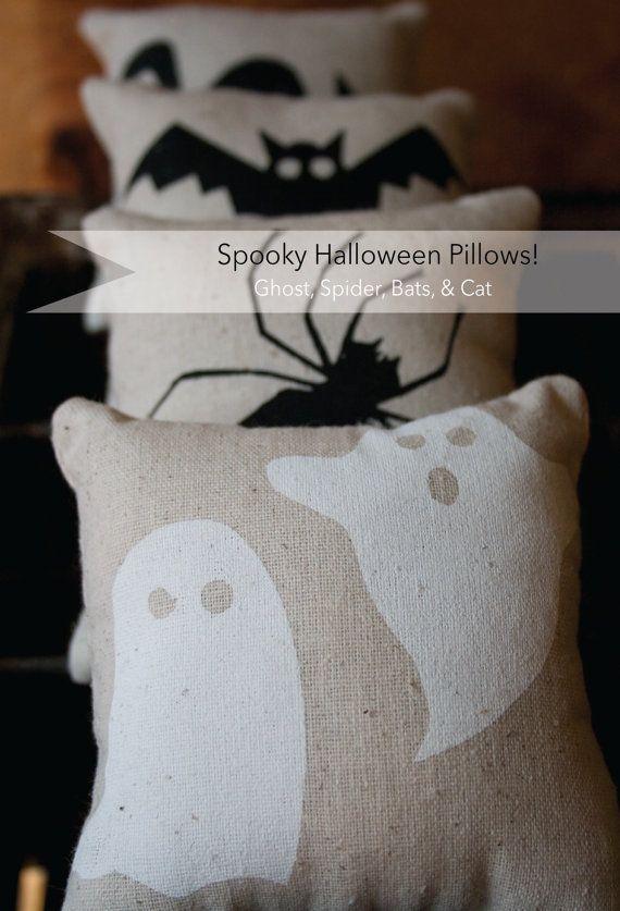 Halloween Pillows! Almofadas temáticas de Halloween! Art  Decor - halloween arts and crafts decorations