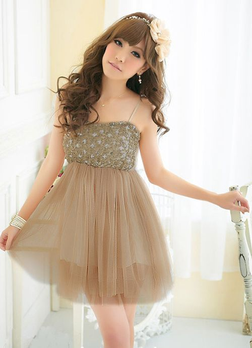 45eb4e3e21eb Off Shoulder Romantic Splicing Lace Dresses Coffee   Wholesaleclothing4u.com