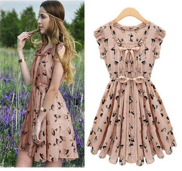 Pics For &gt- Cute Korean Spring Dresses - dresses - Pinterest ...