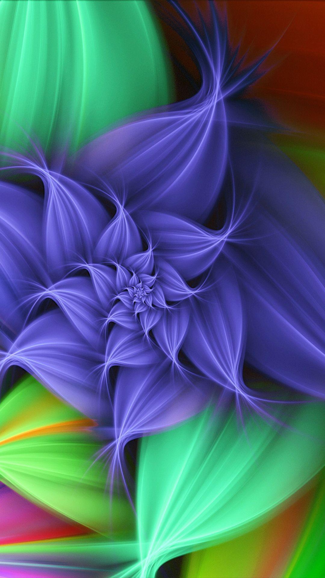 colorful, bright, background, patterns Fractal art