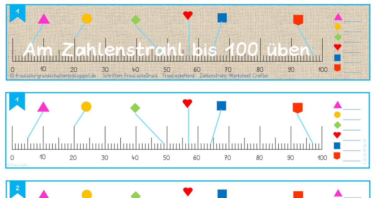 Am Zahlenstrahl bis 100 üben.pdf | Mathematik | Pinterest | Pdf and Math