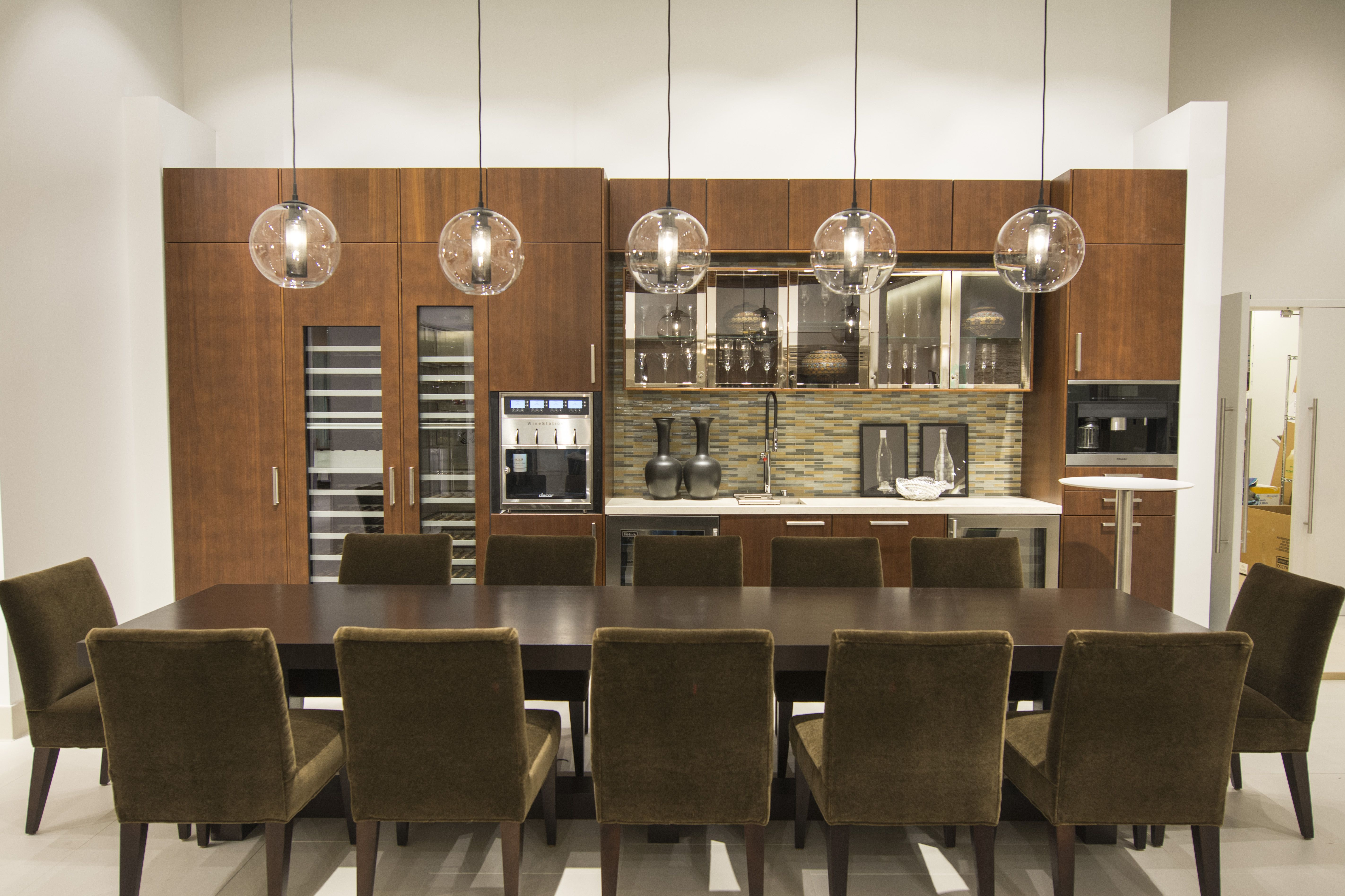 Kitchen display at pirch atlanta featuring products by for Pirch atlanta