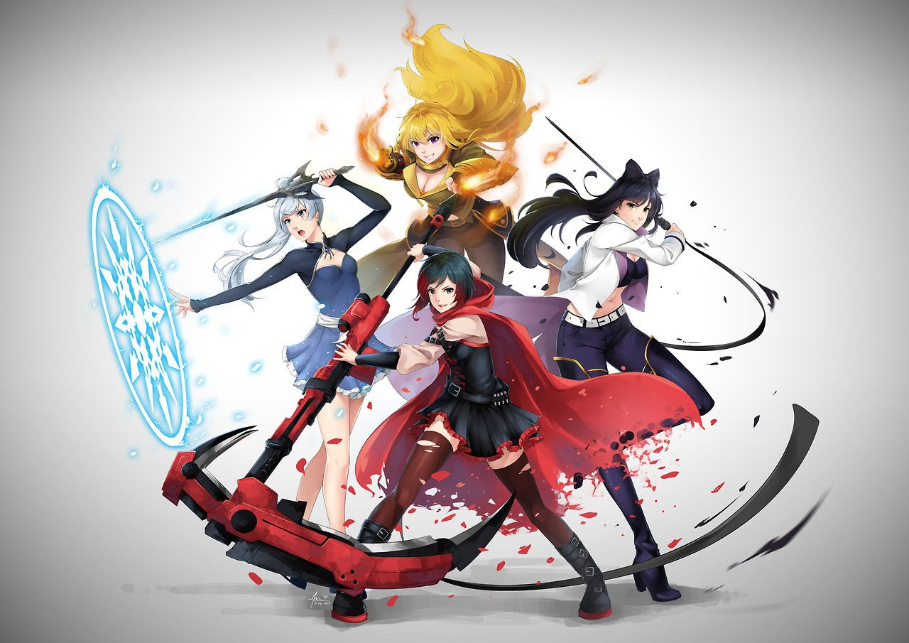 Team RWBY Wallpaper Post Volume 3 New Outfits