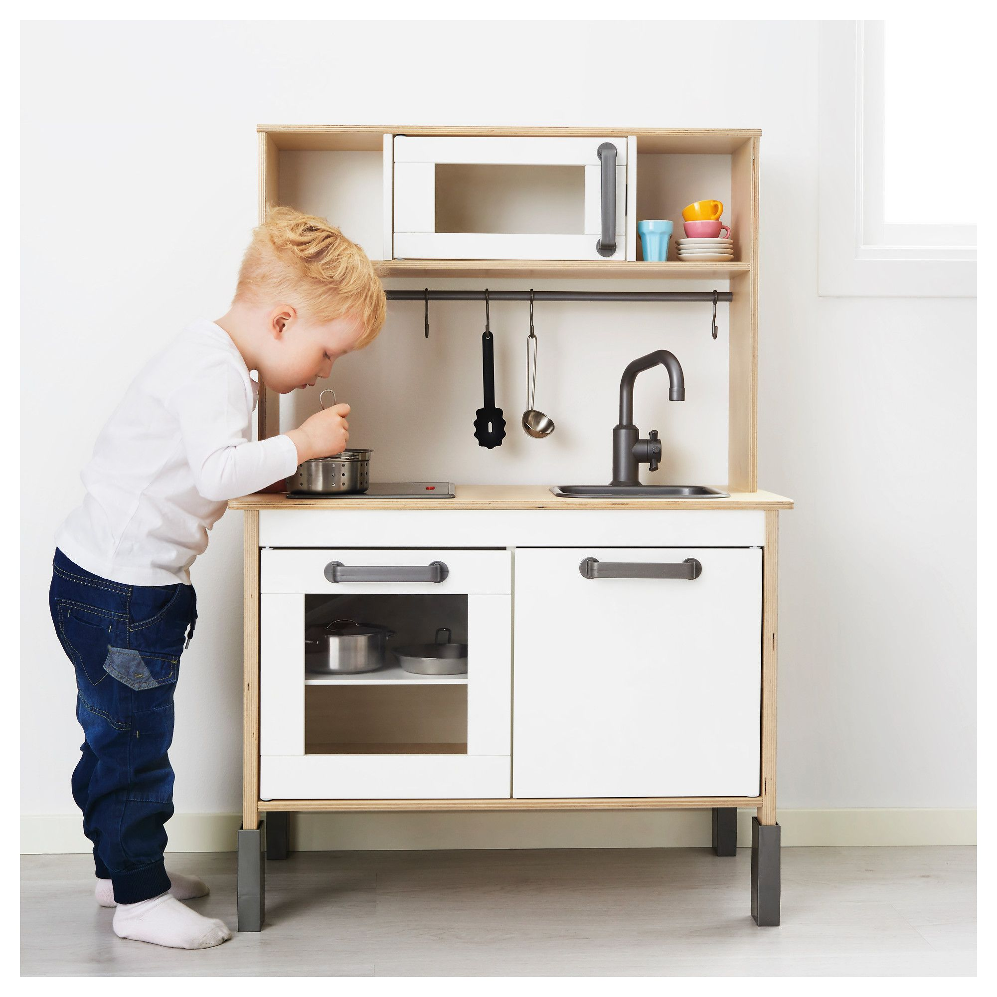 DUKTIG Play kitchen birch Ikea play kitchen, Ikea