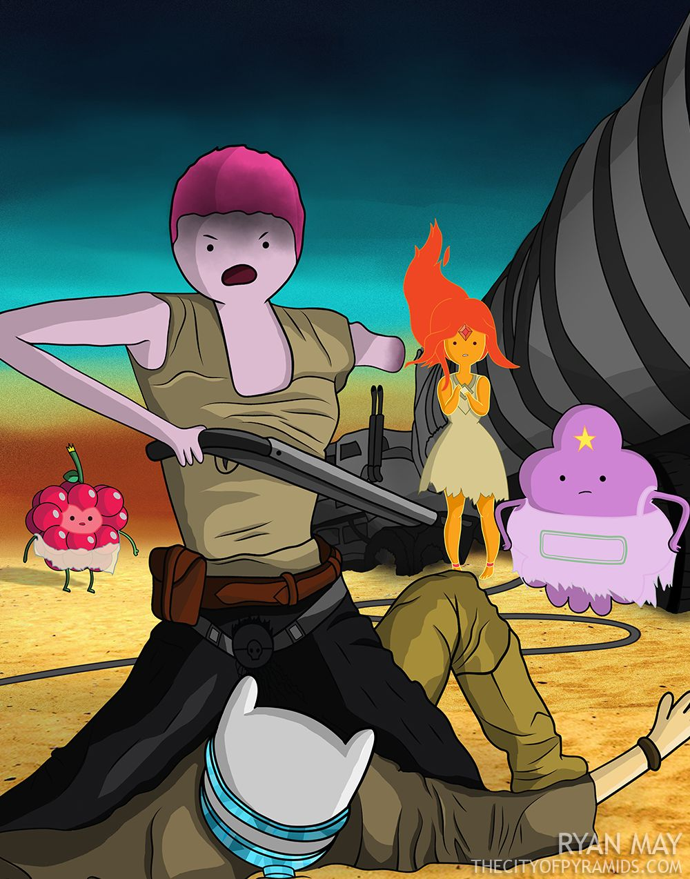 Adventure Time Princess Day mad max v. adventure time: what a lovely day | princess