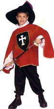 RED MUSKETEER HALLOWEEN COSTUME Renaissance Pirate Red Outfit Child 90177  #eBay #Halloween