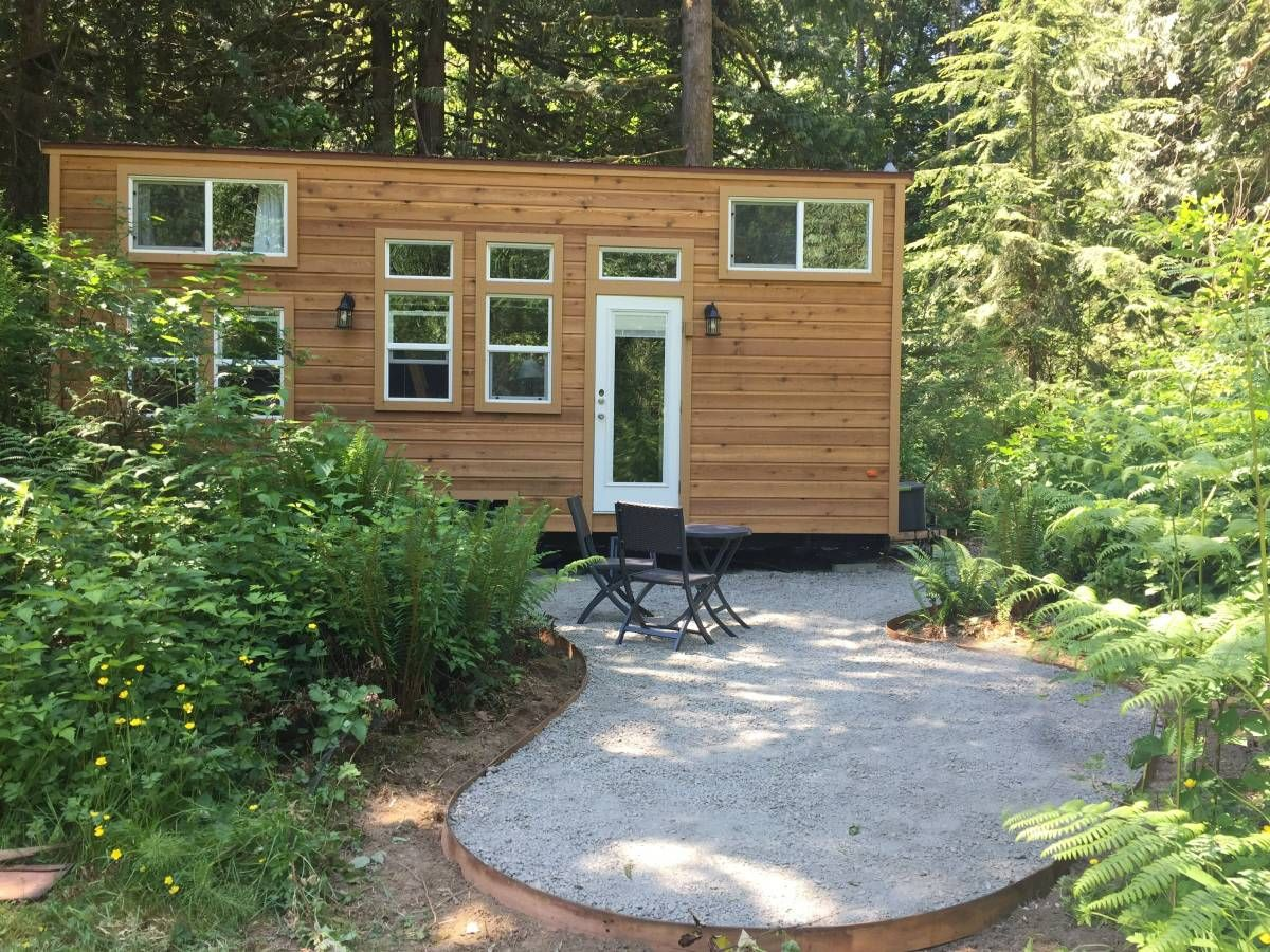 335 sq ft tiny house on wheels in seattle wa tiny houses