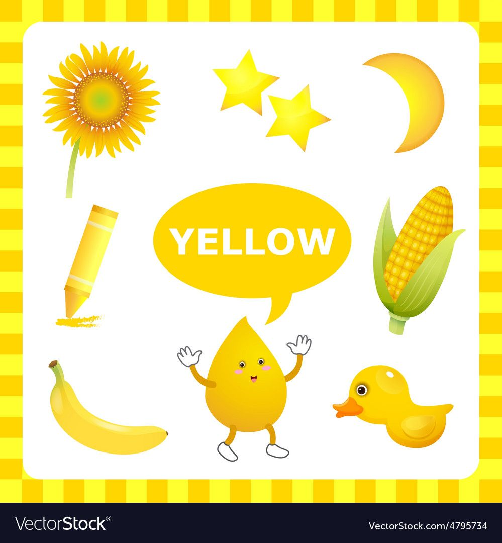 Learn The Color Yellow Things That Are Yellow Color Download A Free Preview Or High Quality Preschool Colors Color Worksheets For Preschool Color Flashcards [ 1080 x 999 Pixel ]