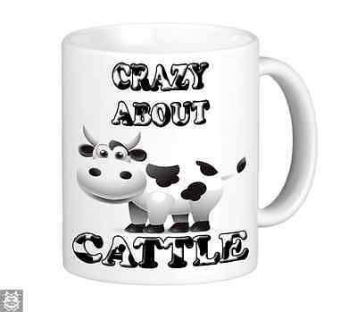 Crazy about #cattle novelty mug cup farming gift #farmer dairy cow #fathers day,  View more on the LINK: http://www.zeppy.io/product/gb/2/262448810342/