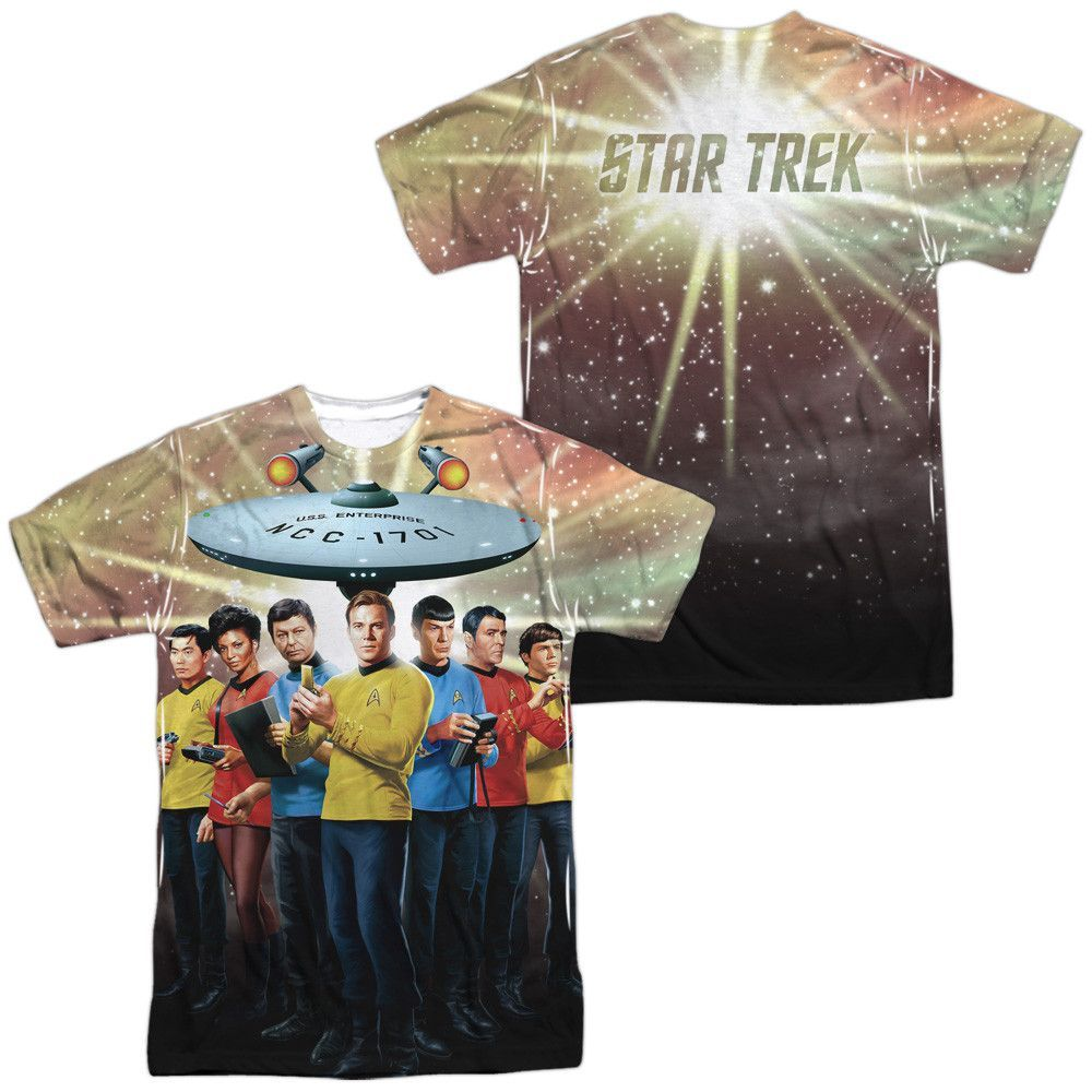 Star Trek - Original Crew (Front - Back Print)