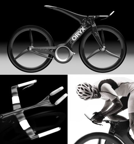Oryx Time Trial Concept Bike Fahrrad Typografie Design