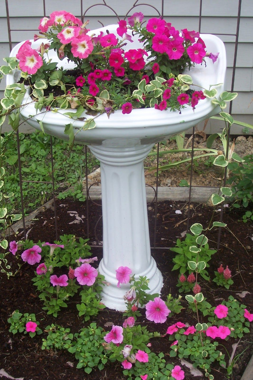 shop planters annecy garden pot stone large s pedestal planter plant vase on