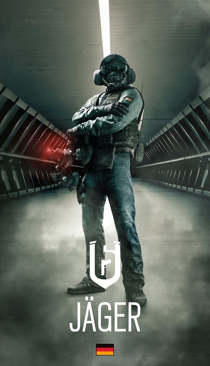 Made by u/thedoctor_97 on Reddit Rainbow six siege anime