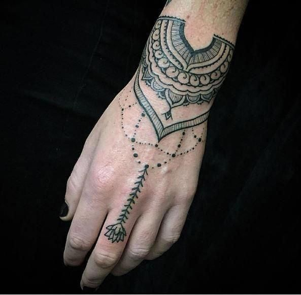 25 Magnificent Henna Cuff Designs For Inspiration: Polynesian Tattoos Meanings #Polynesiantattoos