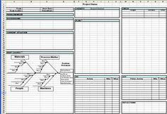 Toyota A3 Report Template 4