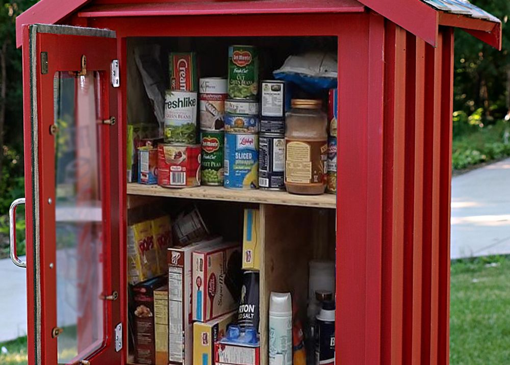 How to Start a 'Blessing Box' Micro Food Pantry Food